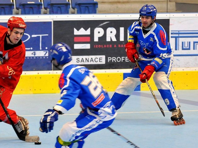 In-line hokejisté Eagles Olomouc. Ilustrační foto