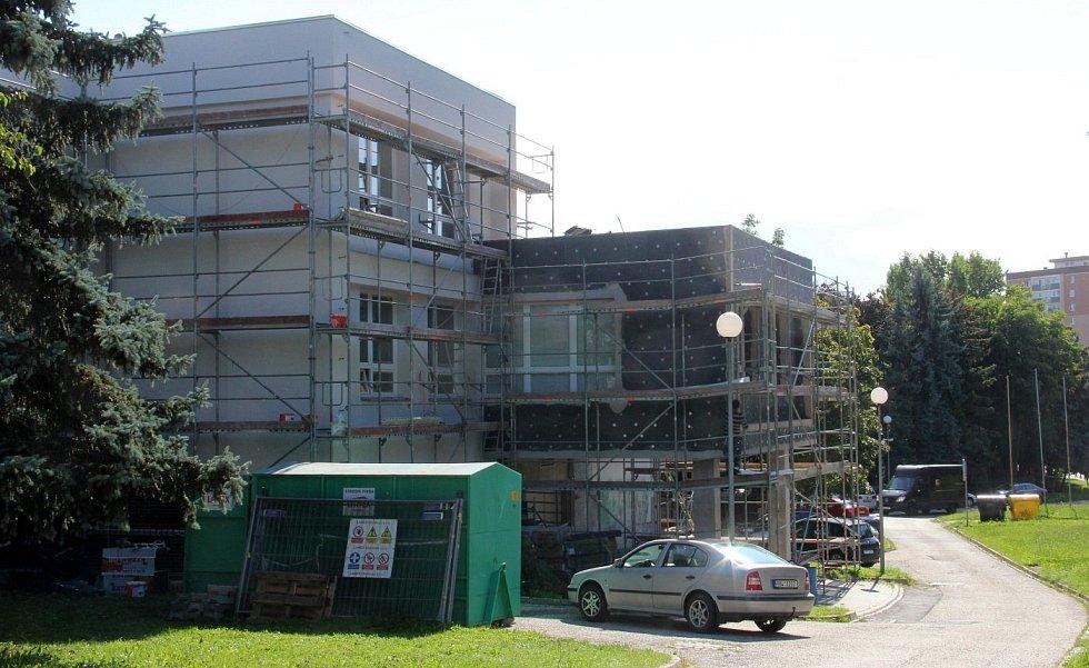 Budova Jalty na Nové Ulici v Olomouci právě prochází rekonstrukcí