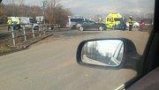 Tragická nehoda na silnici mezi olomouckými částmi Holice a Nový Svět