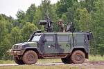 Víceúčelové obrněné vozidlo IVECO 4x4 se zbraňovou stanicí Protektor je určeno pro využití v zahraničních operacích a pro terénní prostředí. Slouží pro plnění přepravních, hlídkových a doprovodných úkolů a má schopnost vést bojovou činnost proti živé síle