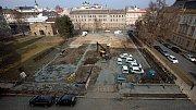 Oprava parkoviště na Palachově náměstí