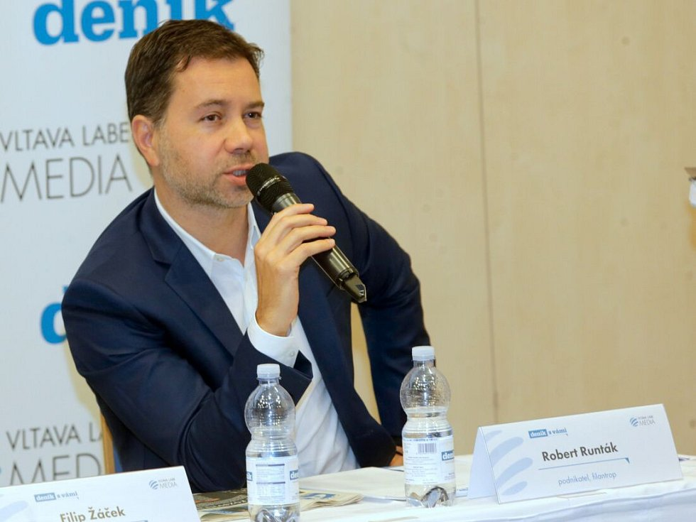 Podnikatel Robert Runták