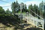 Nový výběh pro levharty mandžuské v olomoucké zoo