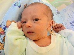Matyáš Hampl, Olomouc  narozen 14. září v Olomouci  míra 50 cm, váha 2340 g