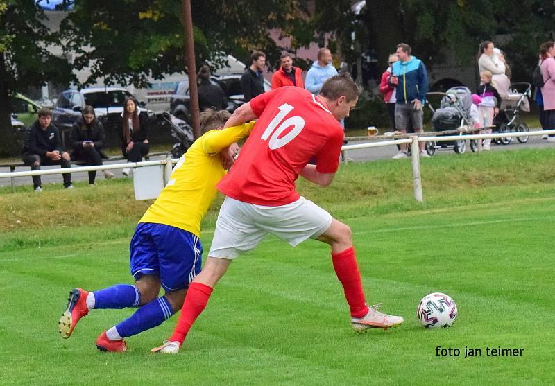 Fotbalisté Brodku u Přerova porazili doma v 8. kole krajského přeboru Bohuňovice 2:1 (1:0).