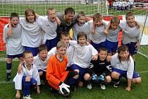 Vyvrcholení žákovského fotbalového turnaje McDonald ´s Cup na Andrově stadionu v Olomouci