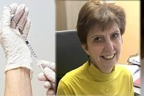 Primářka Jarmila Kohoutová, koordinátorka očkování v Olomouckém kraji