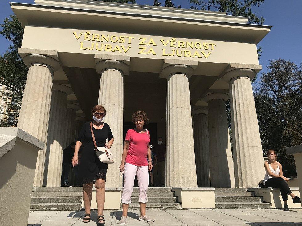 Jihoslovanské mauzoleum, 12. září 2020