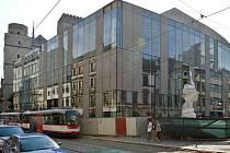 Přestavba olomouckého Prioru v prosklenou Galerii Moritz