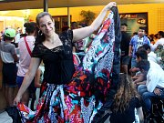 Desátý ročník tradiční akce Romani Gili v areálu hospody U Žida v olomoucké části Nový Svět