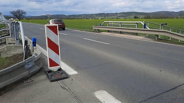 Od 10. do 14. května bude probíhat rekonstrukce mostu silnice I/46 vDolanech.