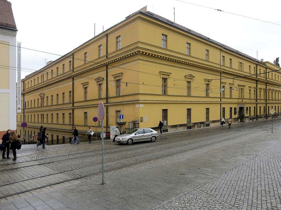 Hanácká kasárna u náměstí Republiky v centru Olomouce