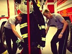 Z klipu k 70. výročí olomouckých profesionálních hasičů