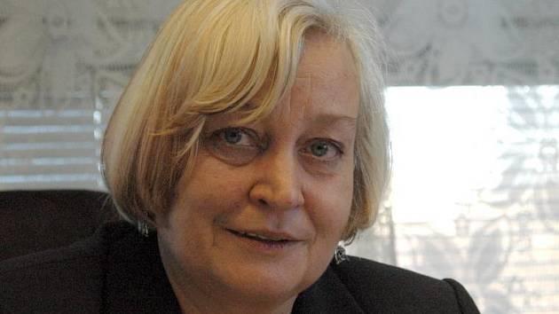 Děkanka Právnické fakulty UP Milana Hrušáková