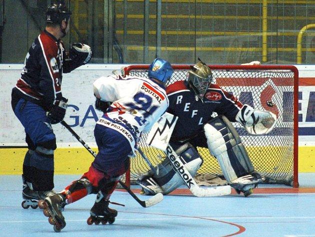 Olomoučtí Eagles proti Uherskému Hradišti