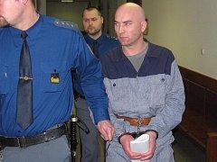 Petr Štýbl u vrchního soudu v Olomouci