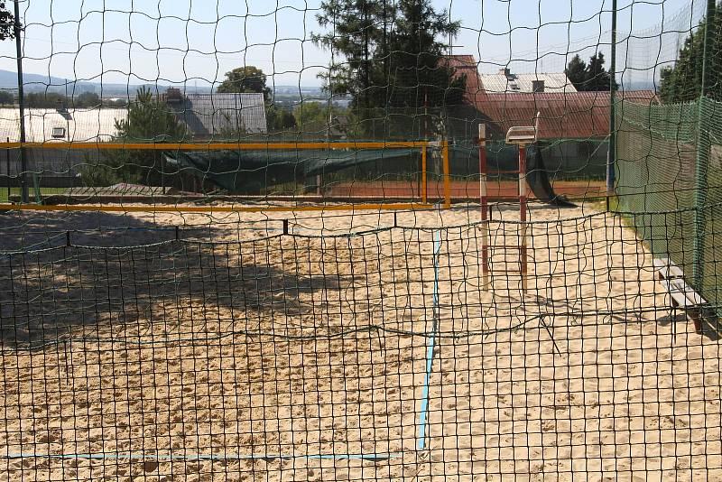 Bukovany. Hřiště na plážový volejbal