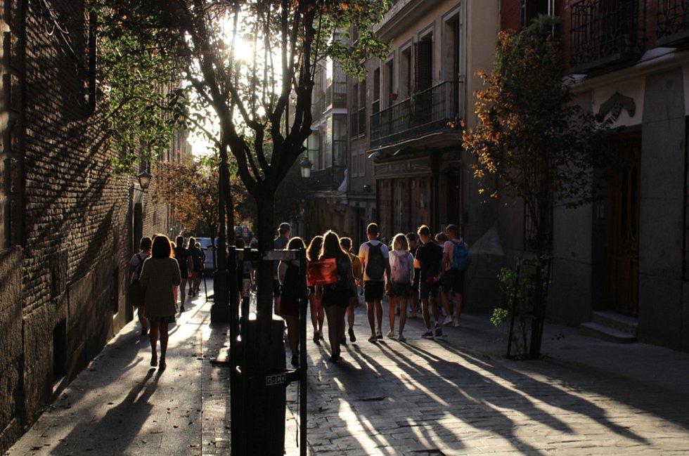 Návštěvu Španělska si všichni studenti užili