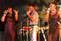 Boney M na pražském koncertě v roce 1999