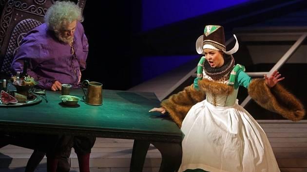 Verdiho opera Falstaff v Moravském divadle