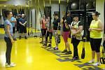 Cvičení se systémem TRX v olomouckém Flex-Fitness studiu