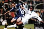 Olomoučtí fotbalisté remizovali v roce 1998 v Poháru UEFA doma s Olympiquem Marseille 2:2. William Gallas