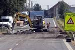 Úplnou uzavírka vytížené silnice I/55 Olomouc – Přerov doprovází komplikované objížky
