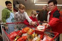 Národní potravinová sbírka. Ilustrační foto