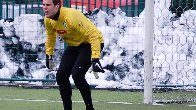 Brankář 1. HFK Olomouc Vojtěch Šrom