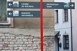 Nové orientační ukazatele v Olomouci