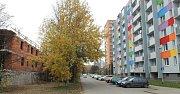 Stavba nového bytového domu v Janského ulici