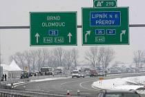 Dálnice D47 mezi Lipníkem a Bělotínem