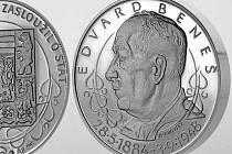 Edvard Beneš - pamětní medaile