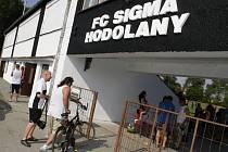 Fotbalový stadion v Hodolanech zažil premiéru obnoveného klubu