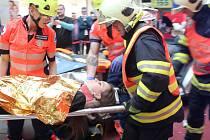 Hasiči, záchranáři i policisté o víkendu přiblížili svou náročnou práci veřejnosti na třetím ročníku akce Hrdinové regionu.
