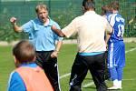 Oldřich Machala jako trenér Frýdku-Místku v zápase se Sigmou B v září 2010
