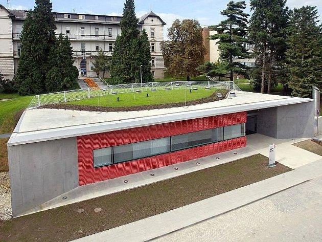Nová budova pracoviště PET/CT v olomoucké fakultní nemocnici.