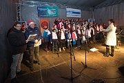 Česko zpívá koledy 2018 na Horním náměstí v Olomouci