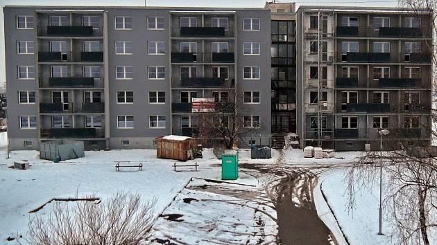 Únor 2015. Proměna zdevastovaného domu v Přichystalově 70 na bydlení pro seniory
