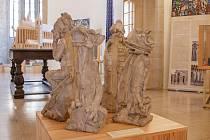 Modely chrličů pro chrám sv. Bartoloměje v Kolíně (Regionální muzeum Kolín)