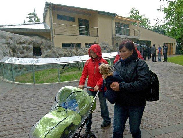 Nový vstup do olomoucké zoo - z vnitřní strany