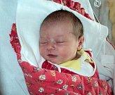 Natálie Tára Frolková, Huslenky, narozena 18. září ve Šternberku, míra 48 cm, váha 3090 g