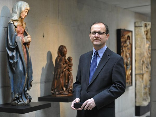 Ředitel Muzea umění Olomouc Michal Soukup