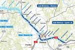 Dálnice D35 mezi Lipníkem a Moravskou Třebovou