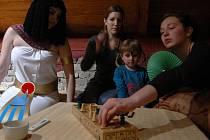 Občanské sdružení Gaudolino pro malé i velké připravilo noc věnovanou deskovým hrám.