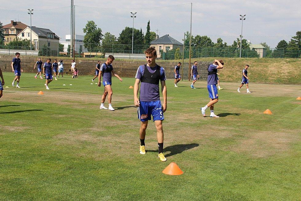 Fotbalová Sigma Olomouc zahájila přípravu na novou sezonu.Kryštof Daněk