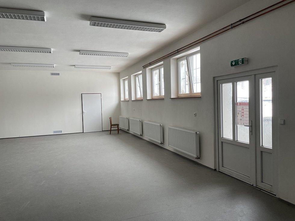 Kulturní dům v Jívové, duben 2021
