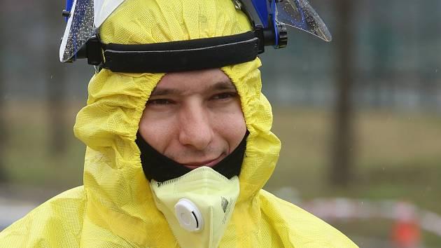 Boj s koronavirovou epidemií. Ilustrační foto