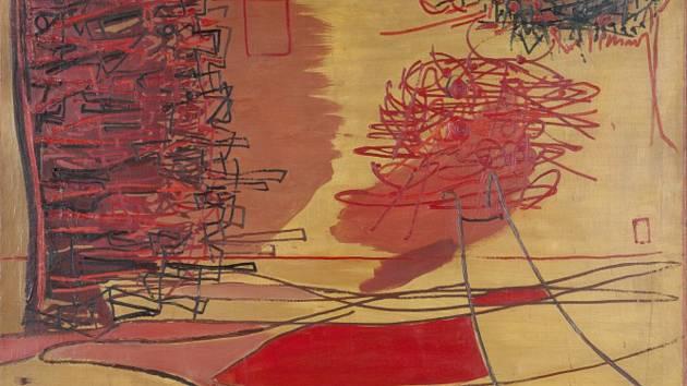 Z výstavy Abstrakce.PL v Muzeu umění v Olomouci