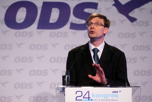 Martin Kupka. Kongres ODS v Olomouci